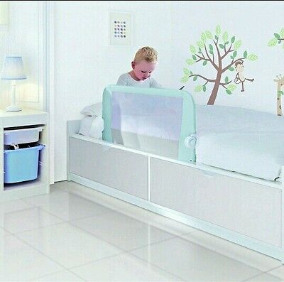 Lindam Easy Fit Bed Guard Bed Rail In Blue New!!!£30