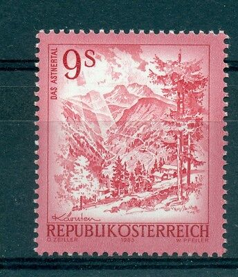 PAYSAGES - BEAUTIFUL AUSTRIA 1983 Common Stamps