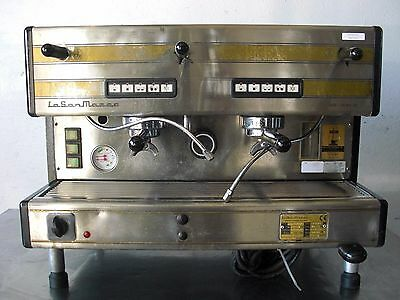 Used LASAN 85-16M-2 MARCO 2 HEAD ESPRESSO MACHINE, Excellent Free Shipping!!!