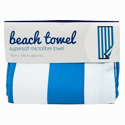 Large Supersoft Microfibre Beach Bath Towel Travel Camping Gym Lightweight