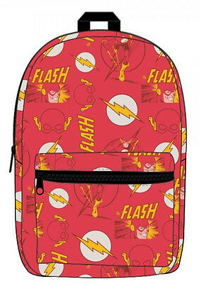 DC Comics The Flash All over Print Sublimated BACKPACK