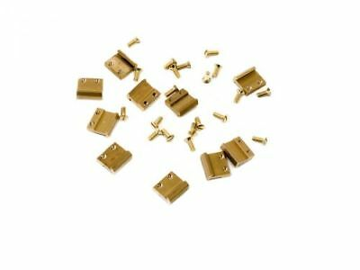 Train Line45 80 Pieces Bolt Trail Connector 15mm Brass G Scale