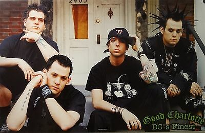 Good Charlotte 23x35 DC's Finest Group Music Poster 2002