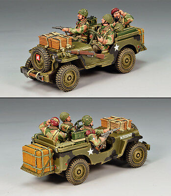 King and (&) Country MG029 - Radio Jeep - Retired