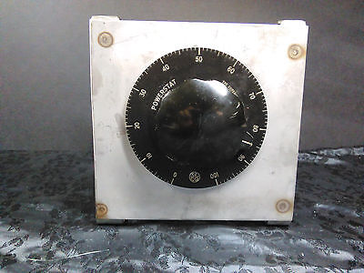 Superior Electric Company Powerstat Variac Type 20  Variable Transformer 0-135 V