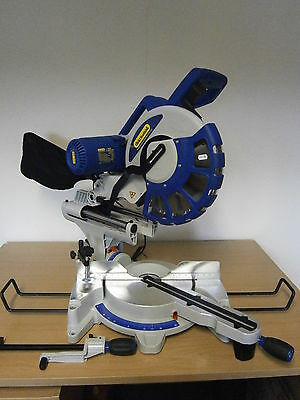 "CHARNWOOD 12"" sliding compound 305mm double bevel  MITRE SAW"