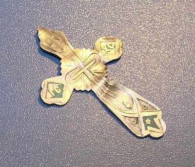 Ancient SILVER Cross Middle Ages original