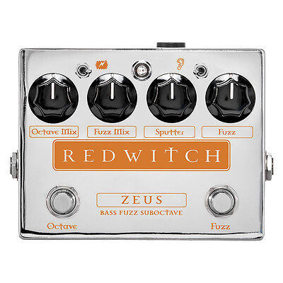 Red Witch Zeus Octave Fuzz Bass Pedal