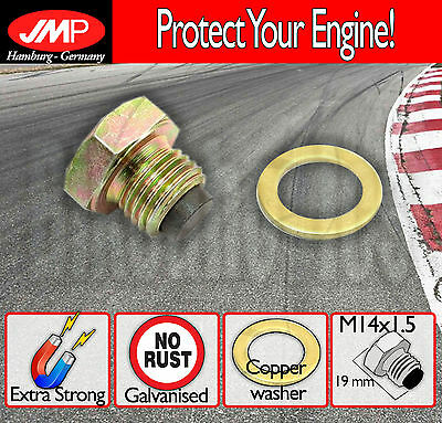 Magnetic Oil Drain Plug / Sump - M14x1.5+washer- Yamaha XJR 1300 SP - 1999