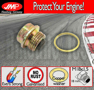 Magnetic Oil Drain Plug / Sump - M18x1.5+washer- BMW K 1100 RS - 1993