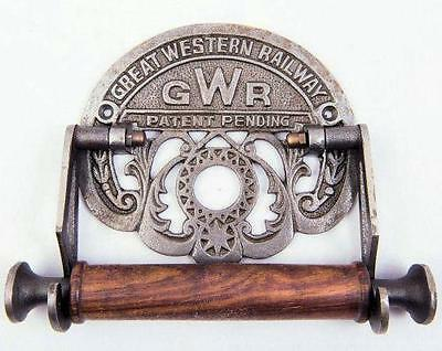 GWR cast iron toilet roll holder loo replica