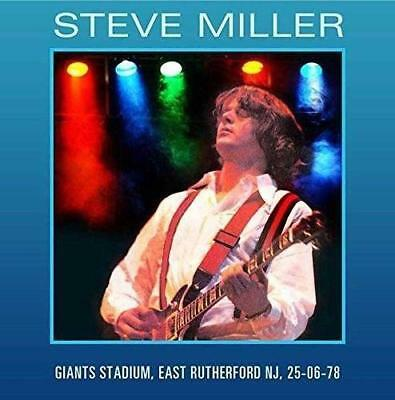 Steve Miller – Live At Giants Stadium, East Rutherford Nj '78 (New/Sealed) Cd