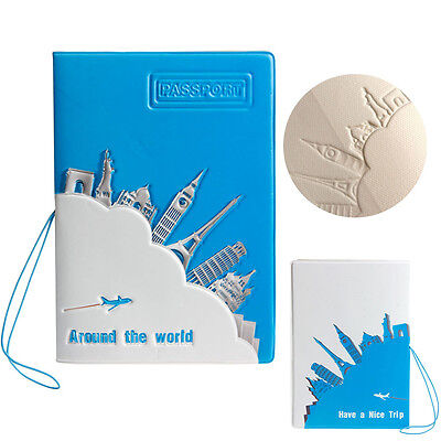 Journey Travel Passport Holder ID Card Case Cover Credit Ticket Protector 1pc