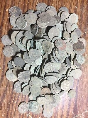Low Quality Uncleaned Ancient Roman Coins_ Great For Practice Or Research!