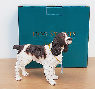 English Springer Spaniel Dog Ornament Gift Figure Figurine Leonardo