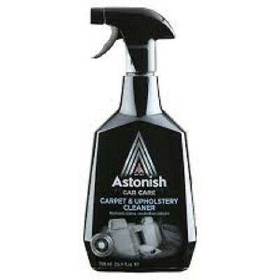 ASTONISH CAR CARE CARPET & UPHOLSTERY CLEANER  FREE FAST DELIVERY 750ml