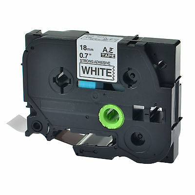 """1PK TZe-S241 TZ-S241 Black On White Label Tape For Brother P-Touch PT-1880 3/4"""""""