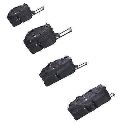 Rolling Wheeled Tote Duffle Bag Luggage Travel Duffle Suitcase  22 30 36 42 Inch