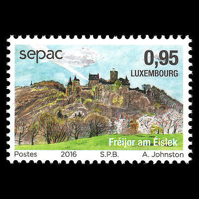"Luxembourg 2016 - SEPAC Issue ""The Four Seasons"" Nature - MNH"