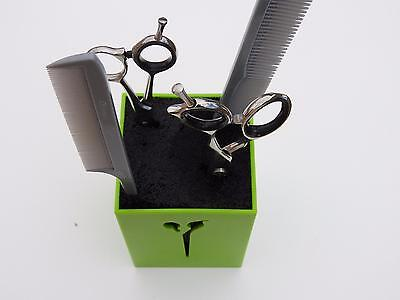 Hairdressing salon Barber scissor, comb, hair clip accessory holder