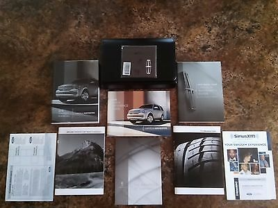 2013 Lincoln Navigator Owners Manual w/ Navigation, SYNC & MyLincoln Touch - #D