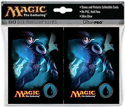 80ct Jace Water Symbol-Art Deck Protector Card Sleeves MTG Ultra Pro 66 x 91mm