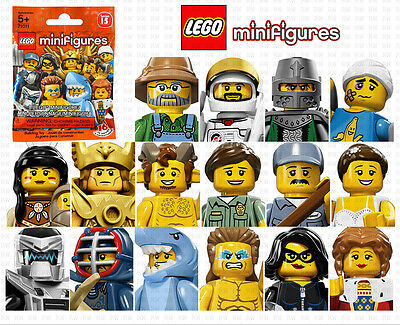 "LEGO 71011 MINIFIGURES SERIES 15 ""Your Choice""~FACTORY SEALED"