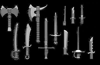 Brickarms Blade Pack Weapons Pack for Lego Minifigures Fantasy Castle