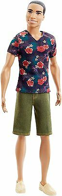 Barbie Fashionistas Ken Doll Floral Tee - DGY68