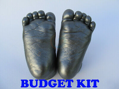 Baby 3D Casting Kit + Paint | Hand print Footprint Alginate Moulding Powder