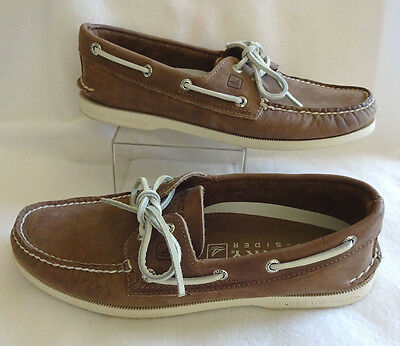 Sperry Top-Sider Men/'s A//O 2-Eye Echo Blue Boat Shoes