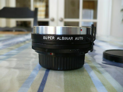 SUPER ALBINAR  Auto Tel Converter 2X for MINOLTA Camera Lens