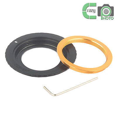 M42-EOS New Adjustable Lens Adapter Ring for M42 Lens to Canon EOS 50D 60D 7D 1D
