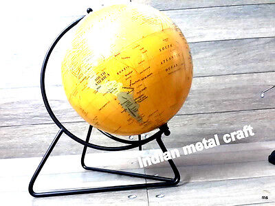 World Globe With Stand World Super Series Globe Modern Style Map