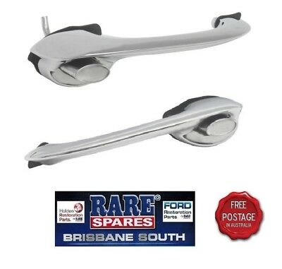 Brand New Holden Ej Eh Chrome 1 Pair Right & Left Hand Front Outer Door Handles
