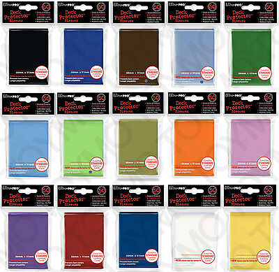 300 6pk Mix And Match ULTRA PRO Deck Protector Card Sleeves Magic Standard