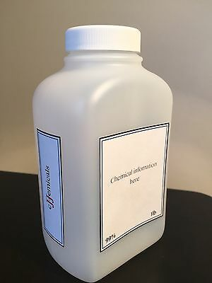 Aluminum Potassium Sulfate POWDER Minimum 99.5% purity! 2 pounds in BOTTLES