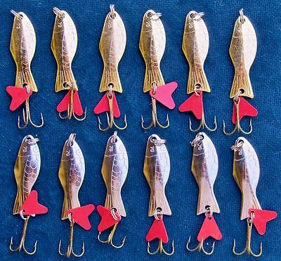 WOBBLER STYLE FISHING LURES  x  12