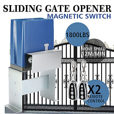 Sliding Gate Opener Door Operator 800Kg Automatic Electric Operator Chain Driven