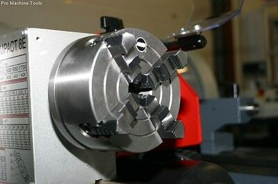 4 jaw 125mm independent lathe chuck and backplate