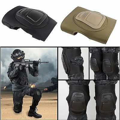 Combat Tactical Military Army Elbow Knee Protective Pad Guard Airsoft Equipments