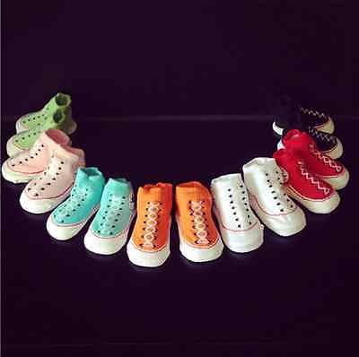 Baby Toddler Moccasins Non-Slip Shoes Socks Booties Slippers