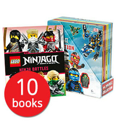 LEGO Ninjago Collection - 10 Books