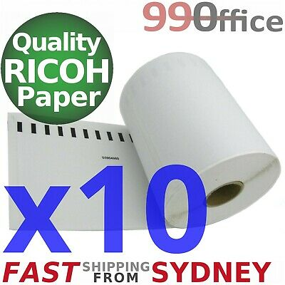 10 Compatible Dymo 4XL Label 220 Roll SD0904980, Large 104x159mm, eParcel Sydney