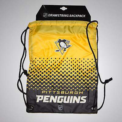 Forever Collectibles NHL Pittsburgh Penguins Fade Drawstring Backpack