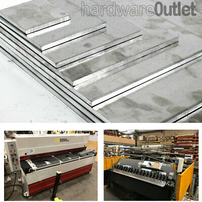5 & 6mm Thick ALUMINIUM SHEET Plate Grade 1050 Pieces 22 sizes to choose from