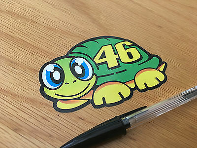 "Rossi ""THE DOCTOR"" Turtle Sticker 2013"