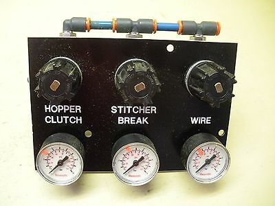 Stitcher Control , Hopper Clutch-Stitcher Break-Wire