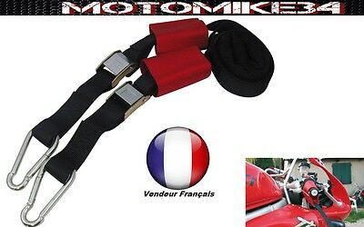 Sangle Fixation Au Guidon Racing Moto Transport / Remorquage