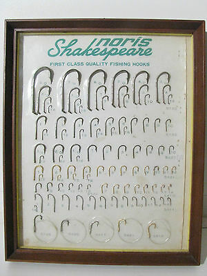 Vintage NORIS SHAKESPEARE First Class Quality Fishing Hooks - Ami da Pesca
